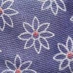 Pattern flowers of purple fabric. — Stock Photo #71069179
