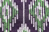 Pattern on linen fabric. — Stock Photo