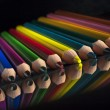 Group of colour wooden pencils — Stock Photo #72390453