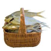 Dried fish. — Stock Photo