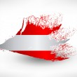 Brush painted flag of Austria — Stock Vector #75914065