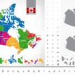������, ������: Political map of Canada