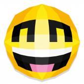 幸せな笑顔のイラスト — ストックベクタ