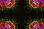 Vzorek pozadí abstraktní ilustrované skla — Stock fotografie