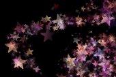 Wonderful Christmas background design illustration with stars — Stock Photo