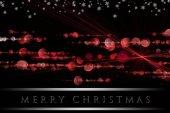 Wonderful Christmas background design with snowflakes — Stock Photo