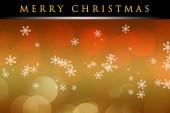 Wonderful Christmas background design illustration with snowflakes — Stock Photo