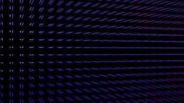 Fantástica animação vídeo com objeto em movimento da partícula, loop hd 1080p — Vídeo Stock