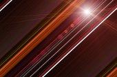 Futuristic stripe background design with lights — Stock Photo