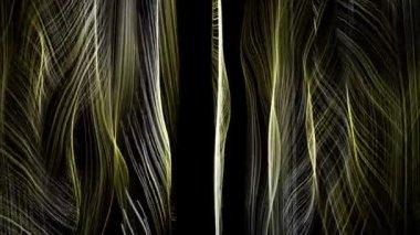 Фантастические видео анимация с объектом волны в движении, петля hd 1080p — Стоковое видео