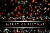 Wunderbare Weihnachten Hintergrund design mit Schneeflocken und Sternen — Stockfoto