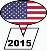 2015 United States — Stock Photo