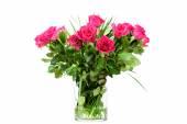 Roses dans un vase — Photo