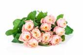 ピンクのバラの花の花束 — ストック写真