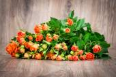Bouquet of roses flowers — Stock Photo