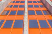 Tinted windows of a residential building — Stock Photo