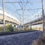 Railroad tracks — Stock Photo #54949601