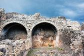 Ancient walls — Stock Photo