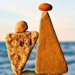 Two triangle stones — Stock Photo #60550385