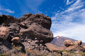 Volcanic landscape of Teide — Stock Photo
