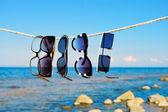 Eyeglasses on a rope  — Stockfoto