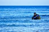 Tüplü dalış — Stok fotoğraf