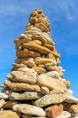 Stone Pyramid — Stock Photo