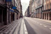 Empty street road in city — Stock Photo