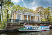 Canal of the Fontanka river in St. Petersburg. — Stock Photo