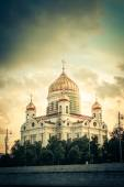 Moscow. Christ the Savior Cathedral — Stock Photo