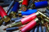 Hunting ammunition — Stock Photo
