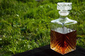 Whiskey in a decanter  — Stock Photo