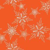 Christmas design, seamless pattern — Stock Vector