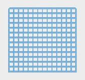 Blue jail bars — Stock Vector