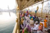 At the Golden Temple, Amritsar, India — Stock Photo