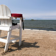 Empty Life Guard Chair — Stock Photo #52839169