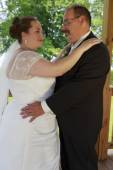 Wedding Couple Pose — Stock Photo