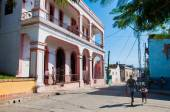 People walking in Santiago de Cuba — Stock Photo