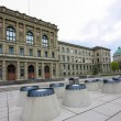 Swiss Federal Institute of Technology  building in Zurich — Stock Photo #61610125