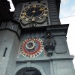 Medieval Zytglogge clock tower on Kramgasse street in Bern — Stock Photo #61913499