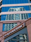 SAN DIEGO, CALIFORNIA, US - MARCH 11, 2007: Exterior of the City National Bank in San Diego California, US on March 11, 2007. On January 2015 was announced its acquisition by Royal Bank of Canada — Stock Photo