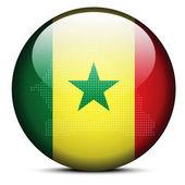 Republic of Senegal — Stock Vector