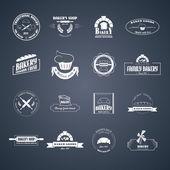 Set of bakery logos. — Stock Vector