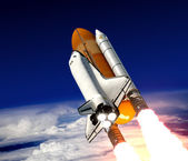 Space Shuttle Launch — Stock Photo