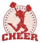 Cheer Design - Vintage — Stock Vector
