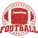 Football Design - Vintage — Stock Vector