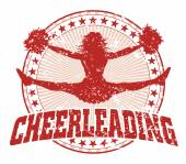Cheerleading ontwerp - vintage — Stockvector