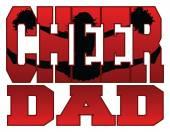 Cheer Dad — Stock Vector