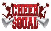 Cheer Squad — Stock Vector