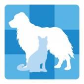 Veterinary Medical Symbol — Stock Vector